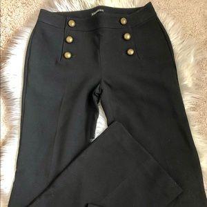 Express sailor black pants